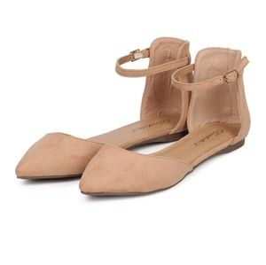 Breckelles Dolley Flat- Nude/Peach